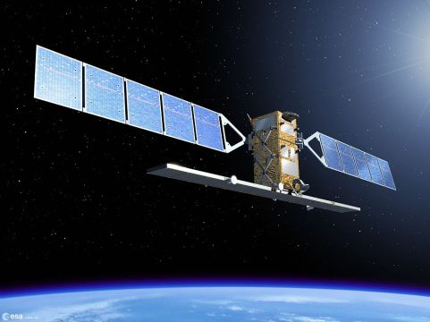 Sentinel-1, due to be launched in march 2014. (ESA)